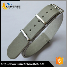 Hot Selling Leather Nato Watch Band/Leather Watch Strap With OEM /ODM Brand