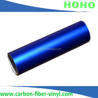 100% Guarangee Matte Vinyls 1.52x30M /vinyls/sticker/carbon Frosted Crystal Blue car Wrap With Air Release Drains