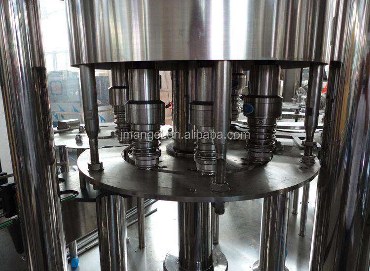 Manufacturer automatic mineral drinking pet sparkling water bottling plant