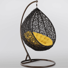 Garden Furniture, Swing Chair, Egg Chair, Rattan Hanging Chair with Stand