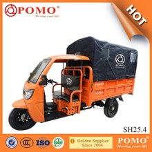 China Factory Cargo Tricycle with Cabin 250CC Three Wheel Covered Motorcycle for Sale