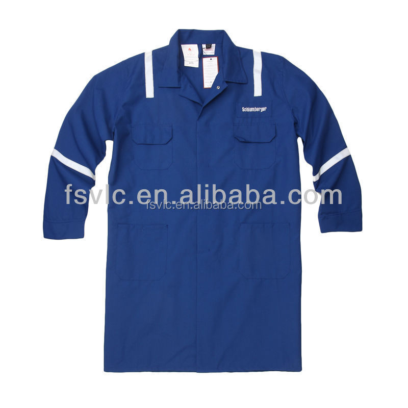 Antistatic Cotton Dust Fire Retardant Safety Lab Coat