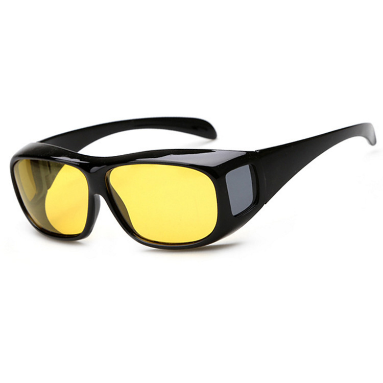 b1a557c9677 Wrap round HD anti glare UV polarized DAY night vision sunglasses night  vision driving glasses