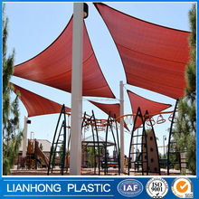 100% HDPE/PE material movable sun shade,China factory price car park sun shade sail,high quality reflective sun shade material