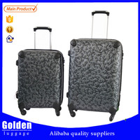new item china market bags and luggage wheels strong smart wheel luggage 3D printing best selling luggage