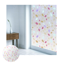 HW-SVK-P038 removable decorative pvc window static glass film