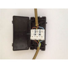 IP20 3 way electrical quick junction box with wire connector