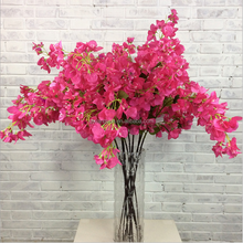 Artificial plum cherry blossom bougainvillea speetabilis make beautiful trees for wedding decoration