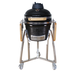 16'' Commercial Electric BBQ Grill Charcoal Barbeque Smoker Oven brick bbq grill