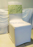 fashion organza spandex chair covers and sashes for sale for wedding and hotel decoration