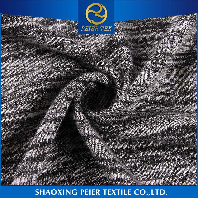 Best selling elegant polyester knit fabric supplier simplex fabric office wear fabric