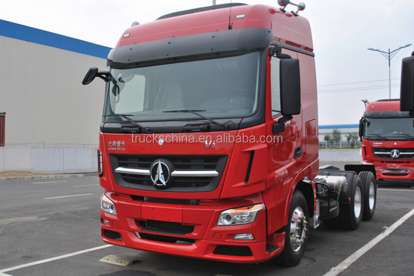 China Trucks Top Brand BEIBEN Tractor Head Truck For High Land