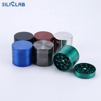 smoking accessories Custom Smoking grinder 4 Layer quick grinder tobacco grinder weed products with boxes