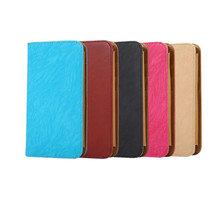 Luxury Fashion New Mixed Color universal PU Leather Flip Case Cover For 5.5-6.0 inch mobile phones