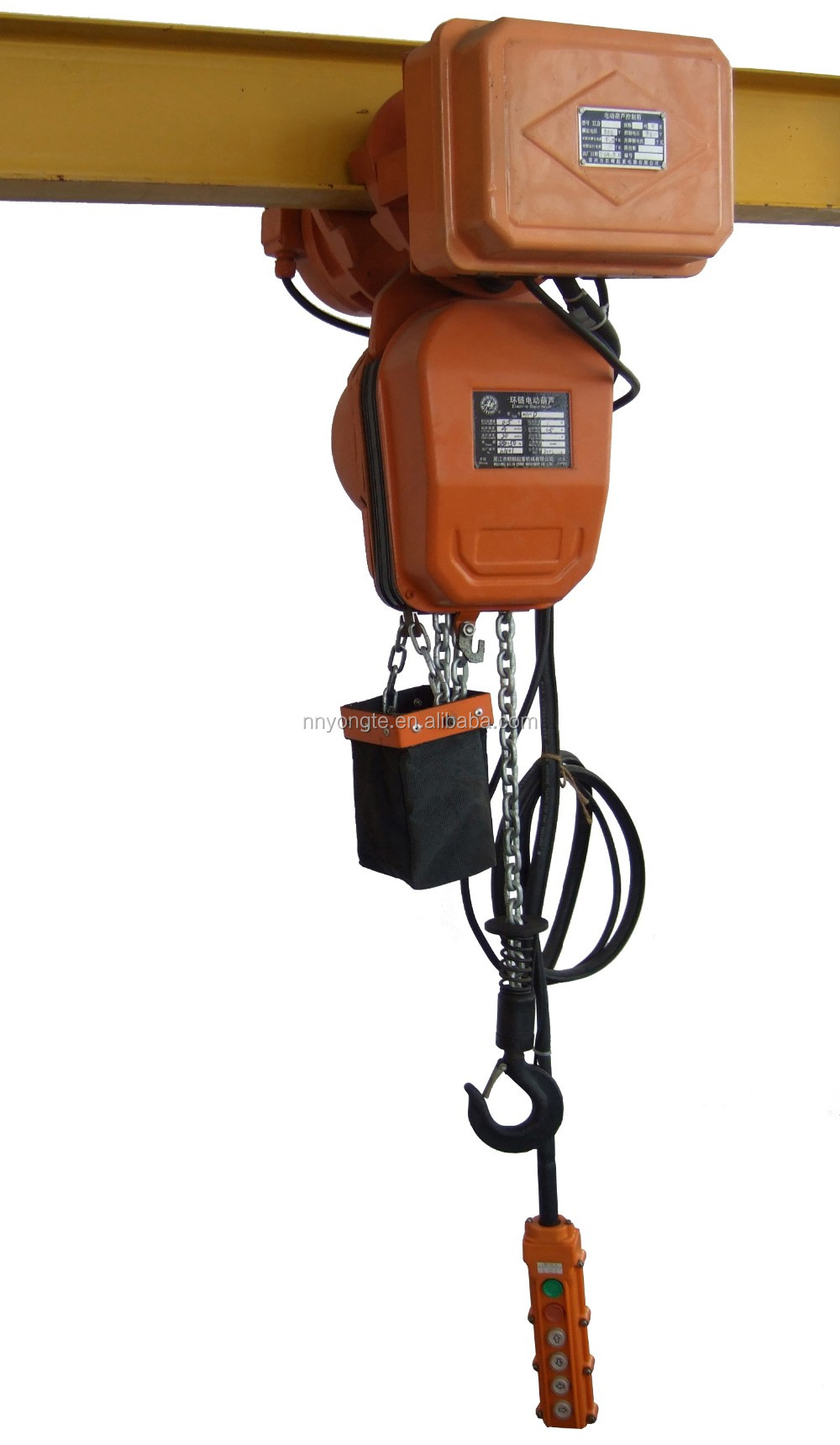 5t Chain Hoist With Electric Trolley Buy Electric Chain