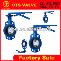 BV-SY-030 casting iron butterfly valve handle