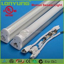 UL led mini sensor light T8 LED Liner tube UL ETL TUV Linkable In Wire For warehouse 4ft 5ft 6ft 18w 25w 30w