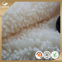 100 Polyester sherpa fleece fabric for clothes