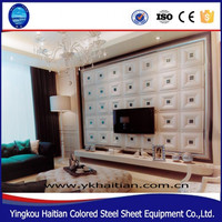 3D TV background wall decoration 3d ceiling wallpaper 3d wall panels decorative wall paneling interior