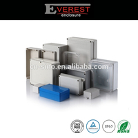 Light grey IP65 PC plastic waterproof enclosures