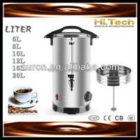Coffee Boiler Coffee Percolator Coffee Urn 16 Liters 1600W With CE CB Certificate
