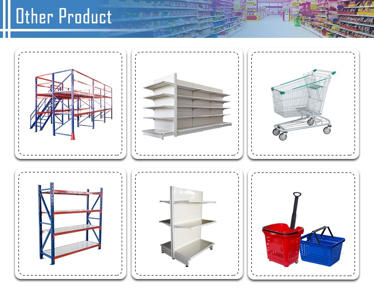 Metal with powder coading heavy duty warehouse storage rack