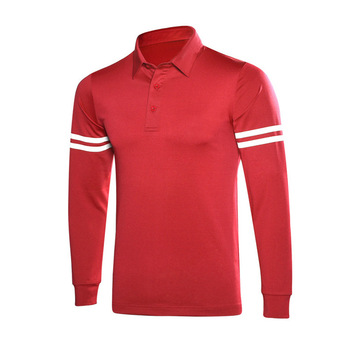 Men long sleeve new style breathable and slim for autumn and winter golf wear
