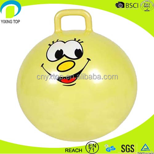 PVC anti-burst toy jumping ball
