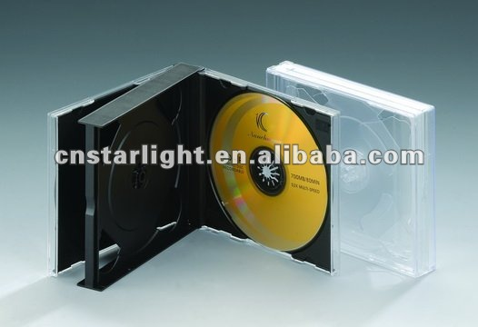 23mm CD Jewel Case with black tray