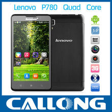 5'' HD IPS Lenovo P780 MTK6589 Quad Core Max 1.2GHz 1280*720 RAM1G+ROM4G Android 4.2 smartphone