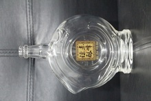 Wholesale 500ml round tequila rum glass bottle