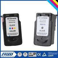 Wholesale Price printer ink cartridge cl513/pg512 with CE Certifiecate