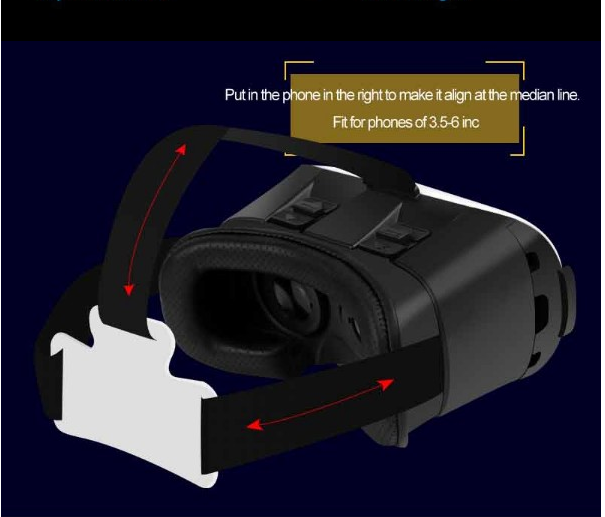 virtual reality glasses vr glasses new products 2016 innovative products augmented reality 3D box