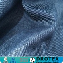 7oz Durable Cotton Fire Retardant Denim Fabric for Jackets/shirts/pants