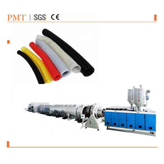 Corrugated drainage pipe plastic extruders for PVC pipe extrusion production <strong>line</strong>