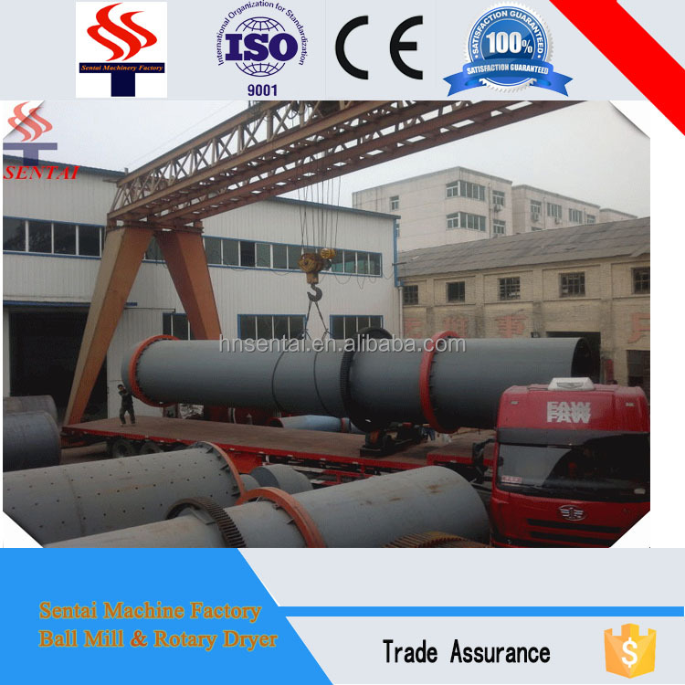 Advanced Slag Rotary Dryer with Low Cost from Sentai Dryer Factory