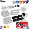 BJ-Screws-2005 High Performance Allen Key Aluminum Fastener Clips Motorcycle Bumpers Bolts