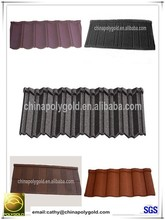 roof products alu zinc metal roofing tile,stone coated steel roof tile, tiles for roof