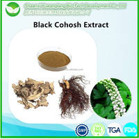 Black cohosh herb extract powder /Triterpenoid Saponins 2.5%, 8%