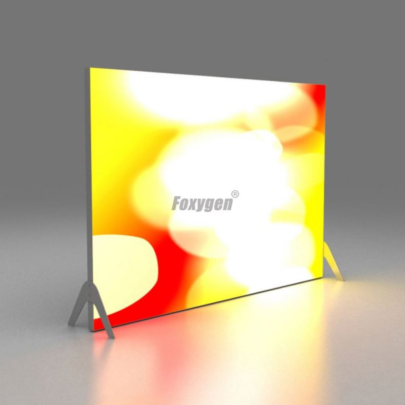 New Product <strong>Advertising</strong> indoor and outdoor Frameless fabric led backlit light box for trade show