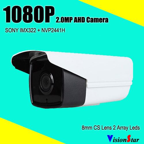 VisionStar weatherproof video infrared outdoor indoor camera bullet sony cctv surveillance 1080p ahd security system