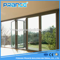There is a strong momentum of multifunctional application of aluminum frame glass doors