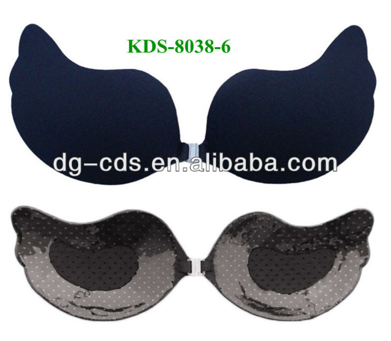 New fashion perfect shaping women sexy invisible nude bra