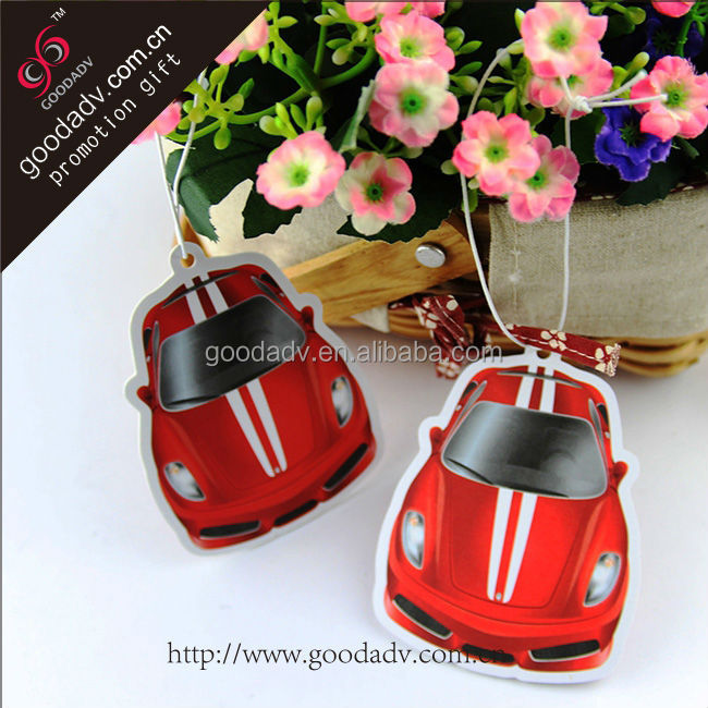 Bulk custom fragrance freshener car shape home air freshener