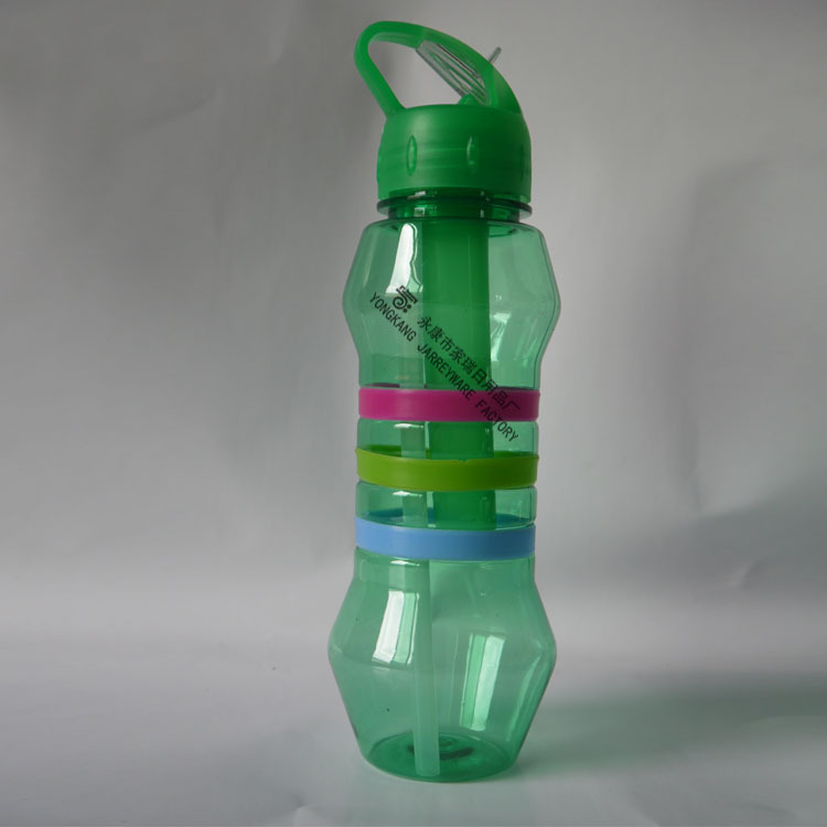 Plastic Material Plastic Bottle With straw lid
