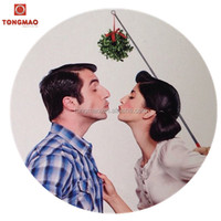 Christmas party game prop portable detachable mistletoe, kissing ball