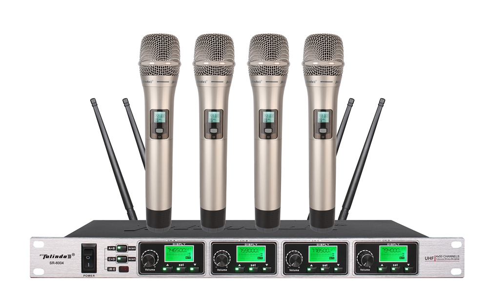 4 channel handheld conference wireless microphones,conference table microphone for meeting