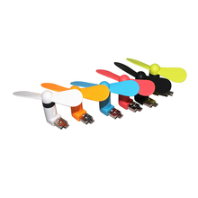 High quality Portable Phone Fan Micro USB OTG Mini Fan for Cell Phone