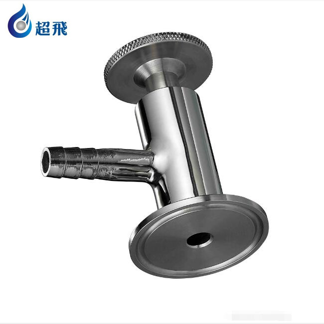 3A Customized logo sanitary clamp threaded ending sampling valve made in China