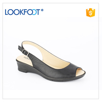 Promotional soft fashion women wholesale casual sandals shoes
